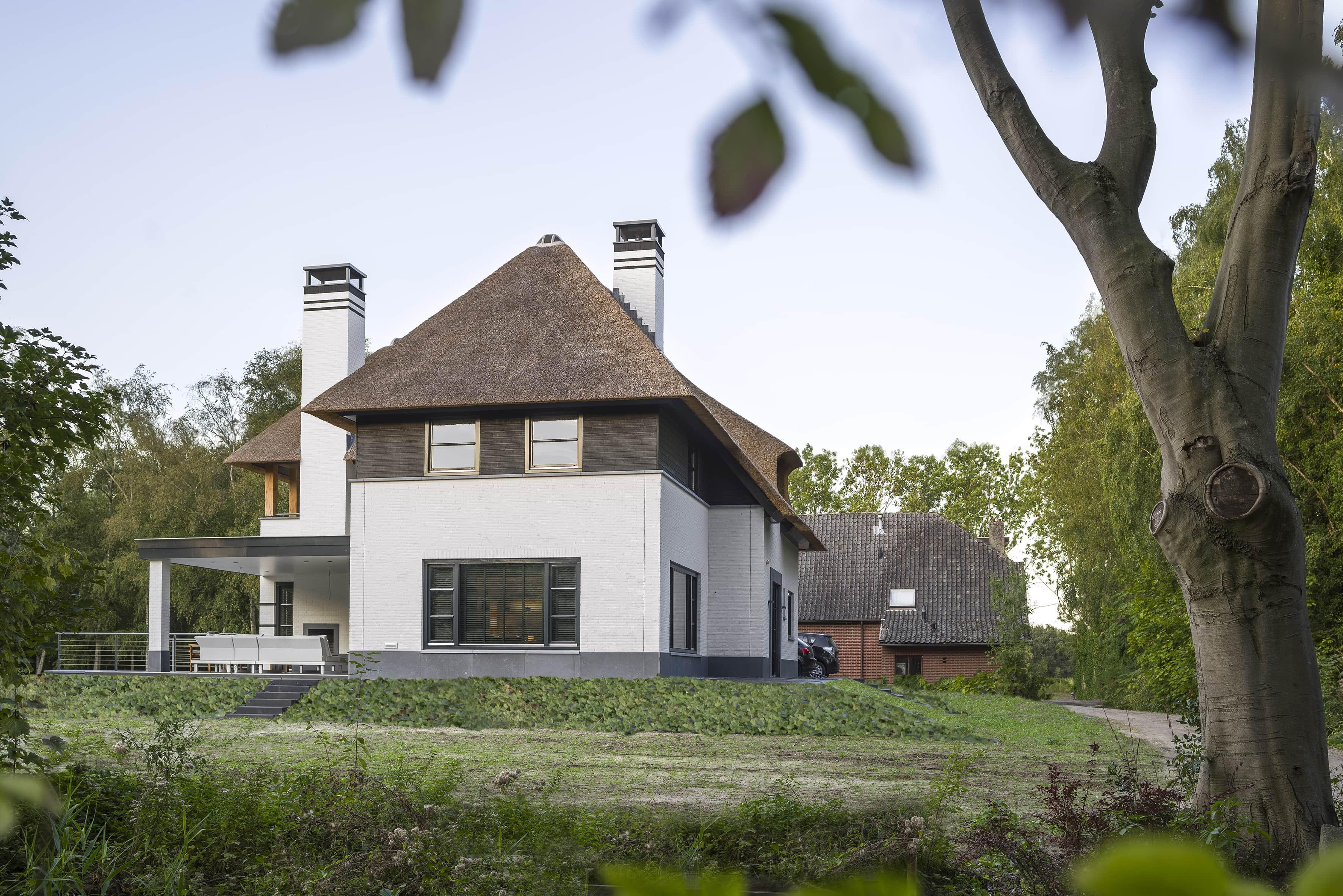 villa aan de rand van tilburg