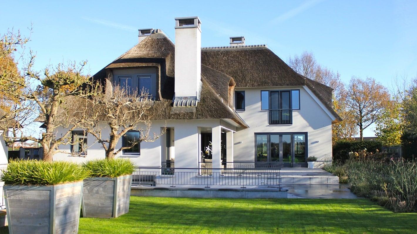 Landelijke Villa Inrichting : Villa in stoere en landelijke stijl wolfs architecten