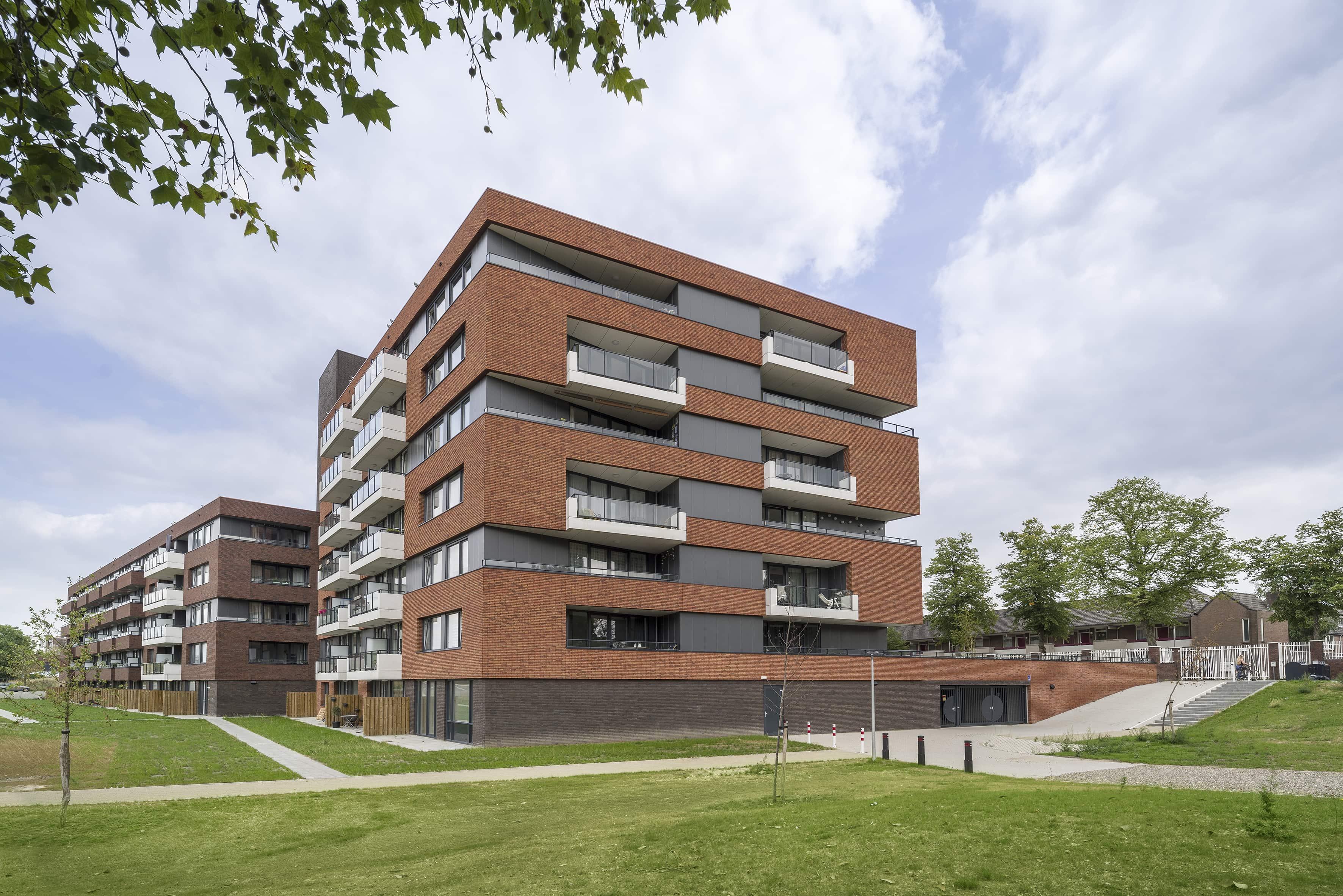 Appartementencomplex Nijmegen De Genestetlaan