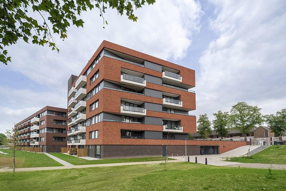 Wolfs architecten heeft het appartementencomplex De genestetlaan in Nijmegen ingestuurd voor de ARC Arwards 2018